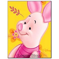5D Diamond Painting Portrait of Piglet Kit