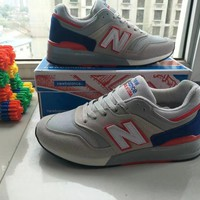 new balance 997 men sport casual n words multicolor sneakers running shoes-1
