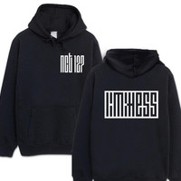 Fashion kpop nct 127 limitness printing pullover hoodie for fans supportive fleece sweatshirt plus size NCT hoodies