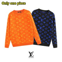 LV Louis Vuitton New Fashion Casual Letter Print Long Sleeve Sweater