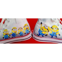 Minion Custom Shoes 2 Converse by denimtrend on Etsy