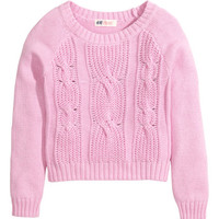 Cable-knit Sweater | Product Detail | H&M