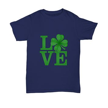 Love Green Glover St. Patrick's Day March T-Shirt