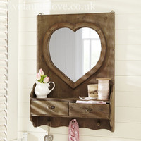 Live Laugh Love, shabby chic, country accessories, vintage furnishings, hanging hearts,
