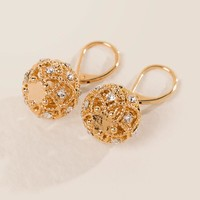 Aviana Filigree Ball Drop Earring