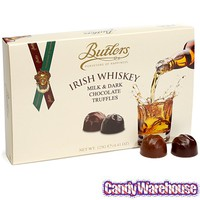 Butlers Irish Whiskey Truffles: 10-Piece Box | CandyWarehouse.com
