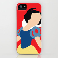 Snow White iPhone Case by Adrian Mentus | Society6