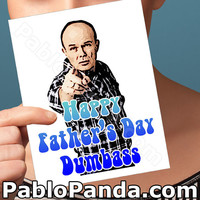 Fathers Day Card | That 70S Show | Red Forman Dumbass Card For Dad  Funny Fathers Day Funny Card Funny Dad Card Greeting Card Funny Greeting