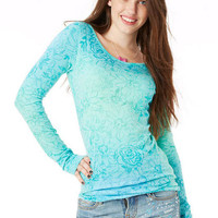 Laura Ombre Long-Sleeve