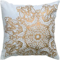 Satna Medallion Pillow - Decorative Throw Pillows - Decorative Pillows - Home Accents - Home Decor | HomeDecorators.com