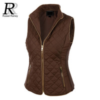 RR Womens Jacket Quilted Fully Lined Puffer Jacket 2016 Fashion Women Jackets Slim Spring Winter Cotton Padded Parka Coat Female