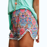 Newly Design Women Lady Sexy Hot Printed Summer High Waist Shorts