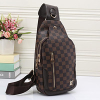 Best Gifts Louis Vuitton LV Women Leather Backpack Bookbag Daypack Satchel