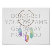 Don't Let Your Dreams Get Away From You Poster