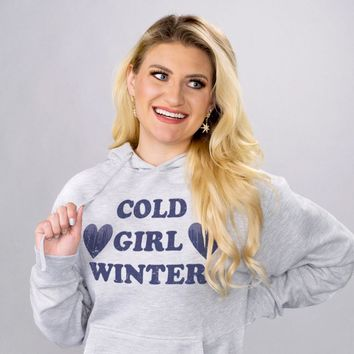 Cold Girl Winter Hoodie