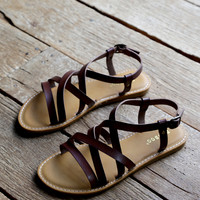 City of Angels Sandal, Brown
