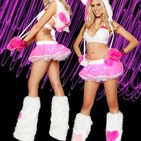 Valentine Hearts Outfit : Light-Up Outfits from RaveReady.com