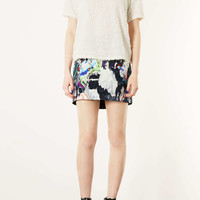 Tall Marble Print Pelmet Skirt - New In This Week - New In - Topshop USA