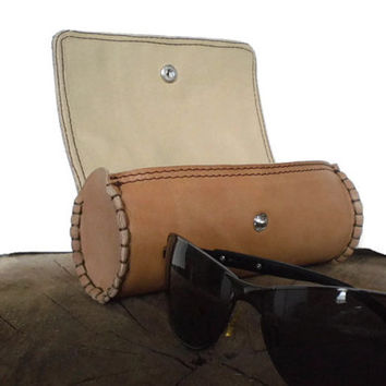 Sunglasses Leather Case, case for glasses, Sun Glasses Case, leather Accessories, glasses holder, Glasses Protector, Glasses Cover, Eyeglass