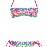 Banded bandeau & Tunnel Pant