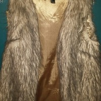 Faux Fur Vest from Forever 21