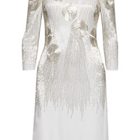 Mikael Aghal Beaded jersey dress – 65% at THE OUTNET.COM