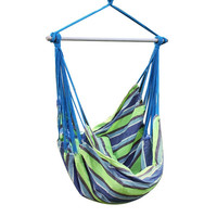 Oasis Green Stripe Hammock Chair (17 inch wide)