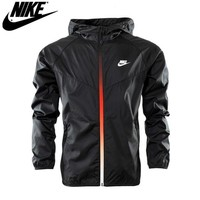 """NIKE"" Fashion Casual Hooded Zipper Cardigan Sweatshirt Jacket Coat Windbreaker Sportswear For Women Men"