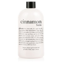 cinnamon buns | shampoo, shower gel & bubble bath | philosophy bath & shower gels