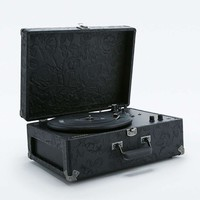 Crosley Keepsake Floral Embossed Record Player EU Plug - Urban Outfitters