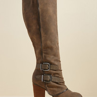 Sass the Ticket Knee High Boot