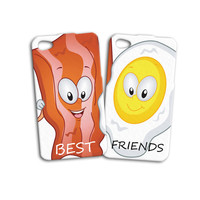 Best Friends Case Bacon and Eggs Case Funny Case iPhone 4 Case iPhone 5 Case iPhone 4s Case iPhone 5s Case iPod Case iPod 5 Case iPod 4 Case