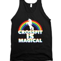 Crossfit Is Magical-Unisex Black Tank