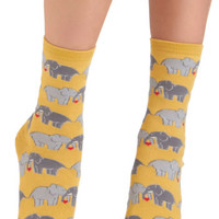 Quirky I Link I Love You Socks by ModCloth