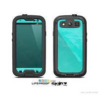 The Subtle Neon Turquoise Surface Skin For The Samsung Galaxy S3 LifeProof Case