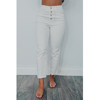 Dream With You Pants: White