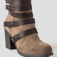 Tallulah Strappy Ankle Bootie