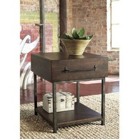 T913-3 Starmore Rectangular End Table - Brown - Free Shipping!