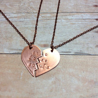 Two Lost Souls Best Friends Necklaces, Pink Floyd Girlfriends Soulmates