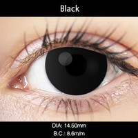Black Color Contact Lenses