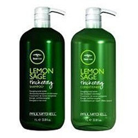 Paul Mitchell Tea Tree Lemon Sage Thickening Shampoo and Conditioner Set, 1 Liter 33.8/EACH Ounces with Pump