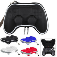 Game Accessories Protective Travel Carry Pouch Bag Case Accessory for Sony Play Station 4 PS4 Controller Gamepad w Wrist Strap