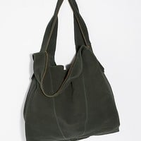 Slouchy Suede Hobo
