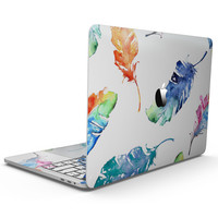 Watercolour Feather Floats - MacBook Pro with Touch Bar Skin Kit