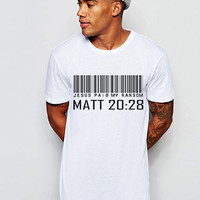 Jesus Paid My Ransom T Shirt - New Arrival!
