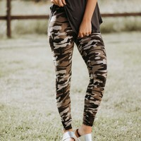 SA Exclusive Camo Leggings