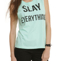 Slay Everything Girls Muscle Top