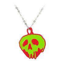 Disney Store Oh My Disney Poison Apple Necklace with Mirror
