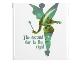 Tinkerbell Silhouette iPhone Cases & Skins