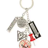 Paper Towns Charms Key Chain